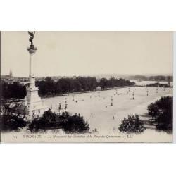 33 - Bordeaux - Le monument des Girondins et la place des Quinconces - Non voy