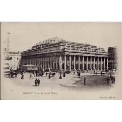 33 - Bordeaux - Le grand Théatre - Non voyagé - Dos non divisé