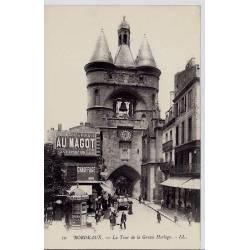 33 - Bordeaux - La tour de la grosse horloge - Non voyagé - Dos non divisé