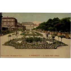 33 - Bordeaux - Le jardin public - Non voyagé - Dos divisé