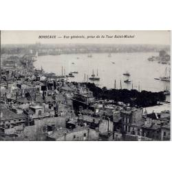 33 - Bordeaux - Vue générale - Prise de la tour Saint-Michel - Non voyagé - Do