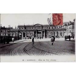 33 - Bordeaux - Hôtel de ville ( façade) - Voyagé - Dos divisé
