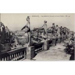 33 - Bordeaux - Vue prise de la terrasse du grand théatre - Non voyagé - Dos d