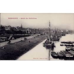 33 - Bordeaux - Quais des Salinières - Non voyagé - Dos divisé