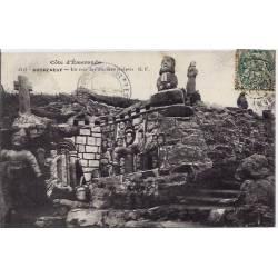 35 - Rotheneuf - Côte d'Emeraude - Un coin des rochers sculptés - Voyagé - Dos