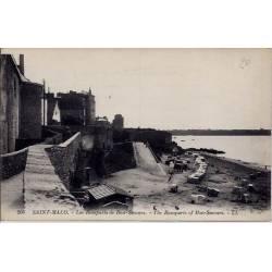 35 - Saint-Malo - Les remparts de Bon-secours - The remparts of bon-secours -