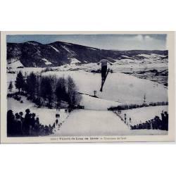 38 - Villard-de lans - En hiver - Concours de saut - Non voyagé - Dos divisé