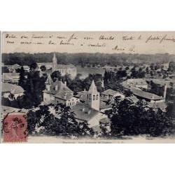 38 - Dauphiné - Vue générale de Cognin - Voyagé - Dos divisé