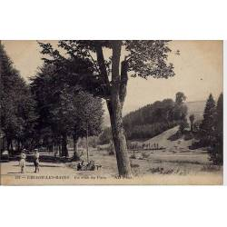 38 - Uriage-les-Bains - Un coin du parc - Voaygé - Dos divisé