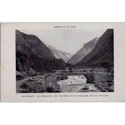38 - Dauphiné - La bérarde - Le vénéon et le glacier de la pilatte - Non voyag