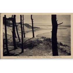 40 - La tranche-sur-Mer -Les dunes et la belle Henriette à travers les Pins -