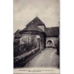 41 - Montoire - Eglise St-Gilles - XII eme siècle - Monument historique - Voya