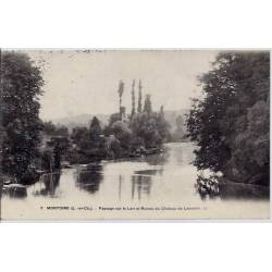 41 - Montoire - Paysage sur le Loir et ruines du château de Lavardin - Voyagé