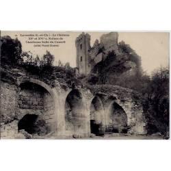 41 - Lavardin - Le château XV et XVI eme siècle - Ruines de l'ancienne salle d