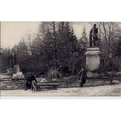 42 - Montbrison - Jardin d'Allard - Voyagé - Dos divisé