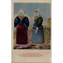 44 -  Bretagne - Costumes des paludières du Bourg de Saillé aux environs de Gu