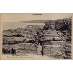 44 - Pornic - La côte de Jade - Rochers de Gourmalon et pointe de Saint-Marc -