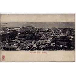 50 - Cherbourg - Vue générale de Cherbourg - Non voyagé - Dos divisé