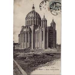 51 - Reims - Eglise Saint-Clotilde - Voyagé - Dos non divisé