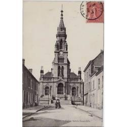 51 - Reims - Eglise Sainte-Geneviève - Voyagé - Dos divisé