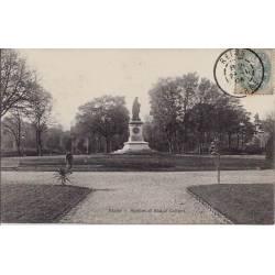 51 - Reims - Square et statue Colbert - Voyagé - Dos divisé