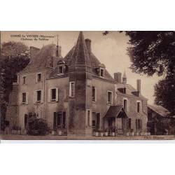 53 - Cossé-le Vivien - Château de Sublay -Voyagé - Dos divisé