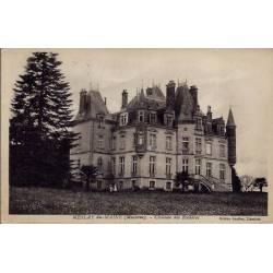 53 - Meslay du-Maine - Château des rochères - Voyagé - Dos divisé