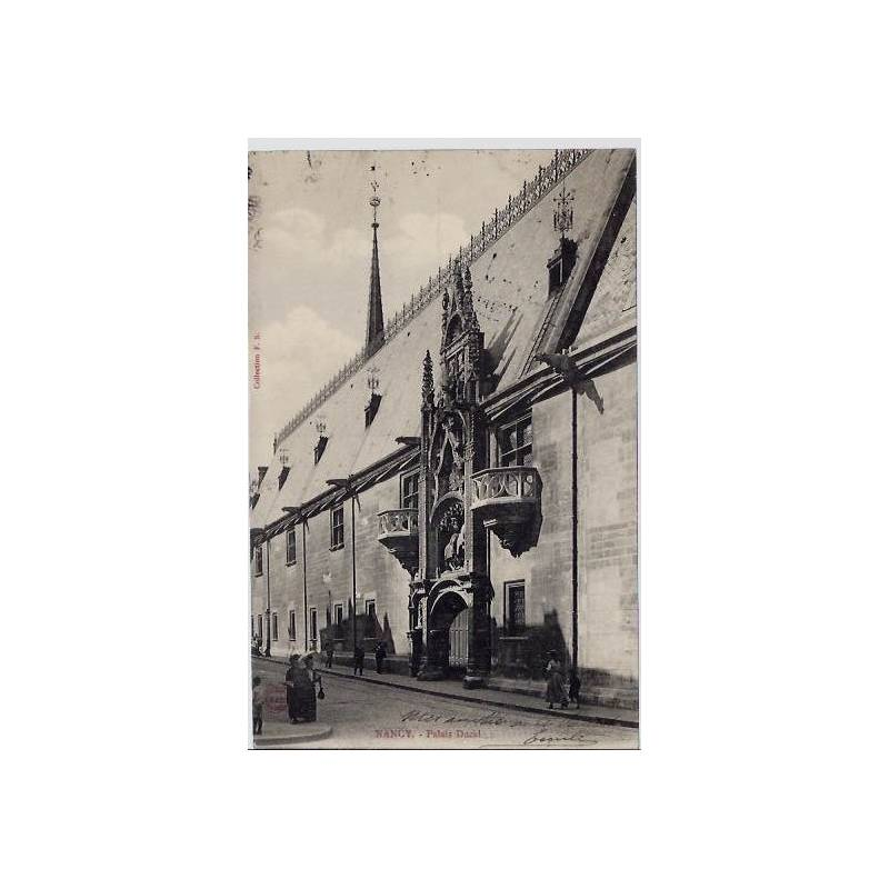 54 - Nancy - Palais Ducal - Voyagé - Dos non divisé