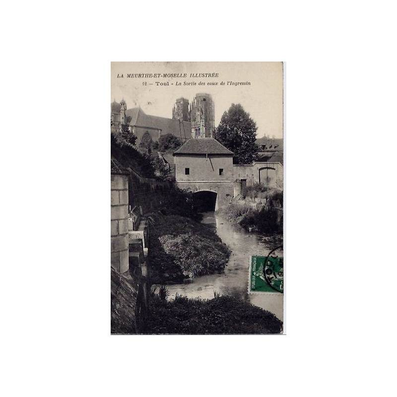 54 - La Meurthe et Moselle - La sortie des eaux de l'Ingressin - Voyagé - Dos