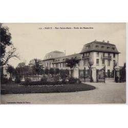 54 - Nancy - Parc Sainte-Marie - Ecole des Beaux -Arts - Non voyagé - Dos divi