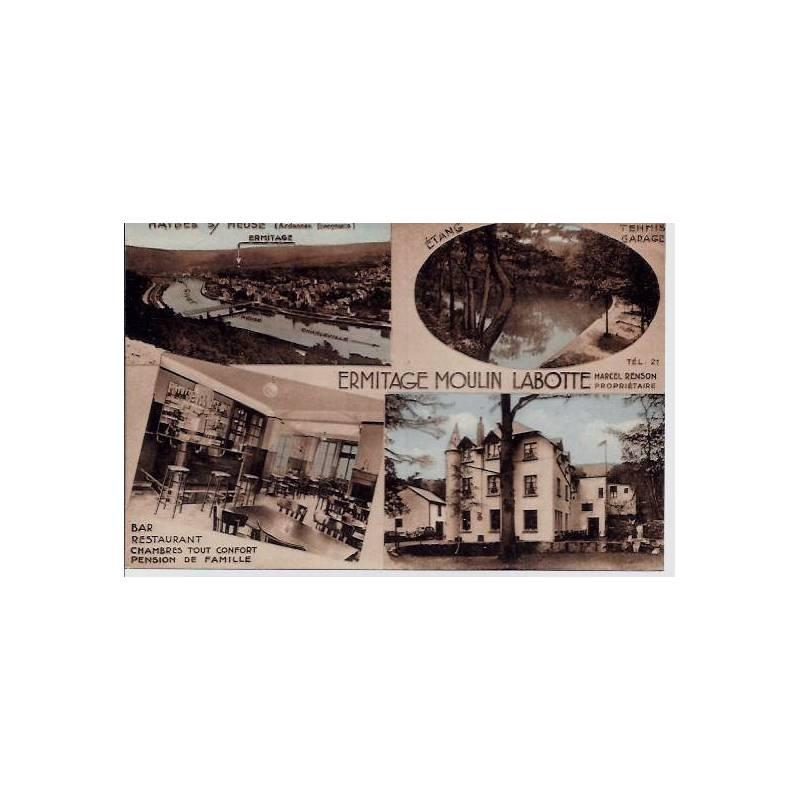 55 - Haybes sur Meuse - Ermitage Moulin Labotte - Différentes vues de la ville