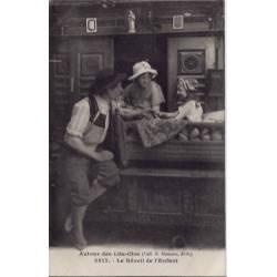 56 - Autour des lits clos bretons - Le réveil de l'enfant - Voyagé - Dos divis