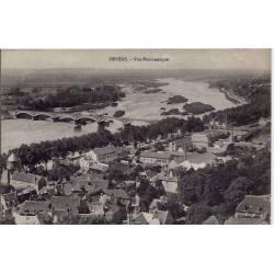 58 - Nevers - Vue panoramique- Voyagé - Dos divisé