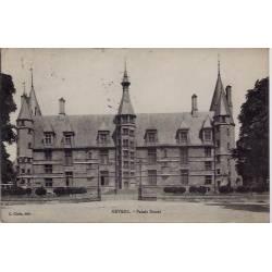 58 - Nevers - Palais Duca l- Voyagé - Dos divisé