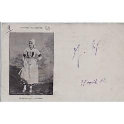63 - Saint-Bonnet - Près Riom - Costumes d'Auvergne - Voyagé - Dos non divisé