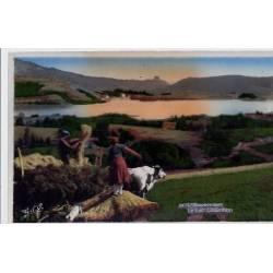 63 - L'Auvergne- Le lac Chambon - Non voyagé - Dos divisé
