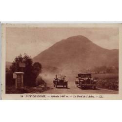 63 - Puy-de-Dôme - Altitude 1467m - Le fond de l'arbre - Voyagé - Dos divisé