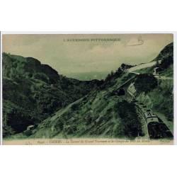 63 - Thiers - L'auvergne pittoresque - Le tunnel du grand tournant et les gorg