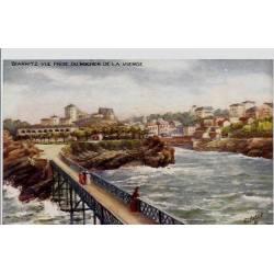 64 - Biarritz - Vue prise du rocher de la Vierge - Non voyagé - Dos divisé