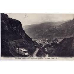 65 - Cauterets - Route de Pierrefitte - Le grand tunnel - Non voyagé - Dos div