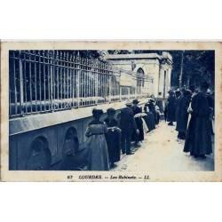 65 - Lourdes - Les robinets - Voyagé - Dos divisé