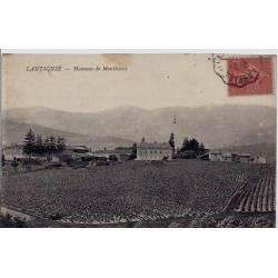 69 - Lantignié - Hameau de Monthieux - Voyagé - Dos divisé
