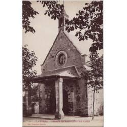 72 - La Flèche - Chapelle de Notre-Dame des Vertus - Voyagé - Dos divisé