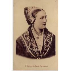 73 - Savoie - Femme en costume de Savoie - Tarentaise -
