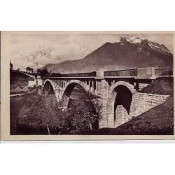 74 - Faverges - Pont de Seythenex - Voyagé - Dos divisé