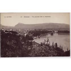 74 - Annecy - Vue générale - Non voyagé - Dos divisé