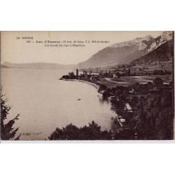 74 - Annecy - Les bords du lac à Menthon- Non voyagé - Dos divisé