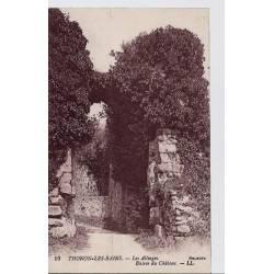 74 - Thonon les Bains - Les Allinges - Entrée du château - Non voyagé - Dos di