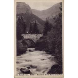 74 - Passy - Pont de la Tetaz - Rochers de Platé -  Non voyagé - Dos divisé