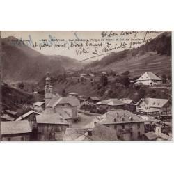 74 - Morzine - Vue générale - Pointe de Nions et col de Jouplane - Voyagé - Do